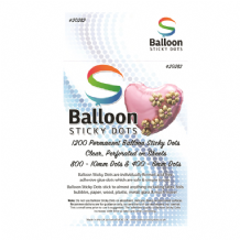 Balloon Sticky Glue Dots (1200pcs)